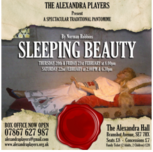 Sleeping Beauty at the Alexandra Hall